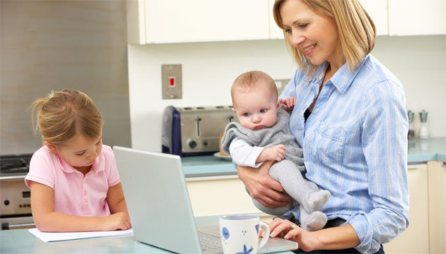 the epic list of 45 business ideas for work at home moms